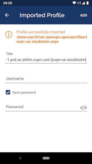 Install OpenVPN on Android | OVPN com