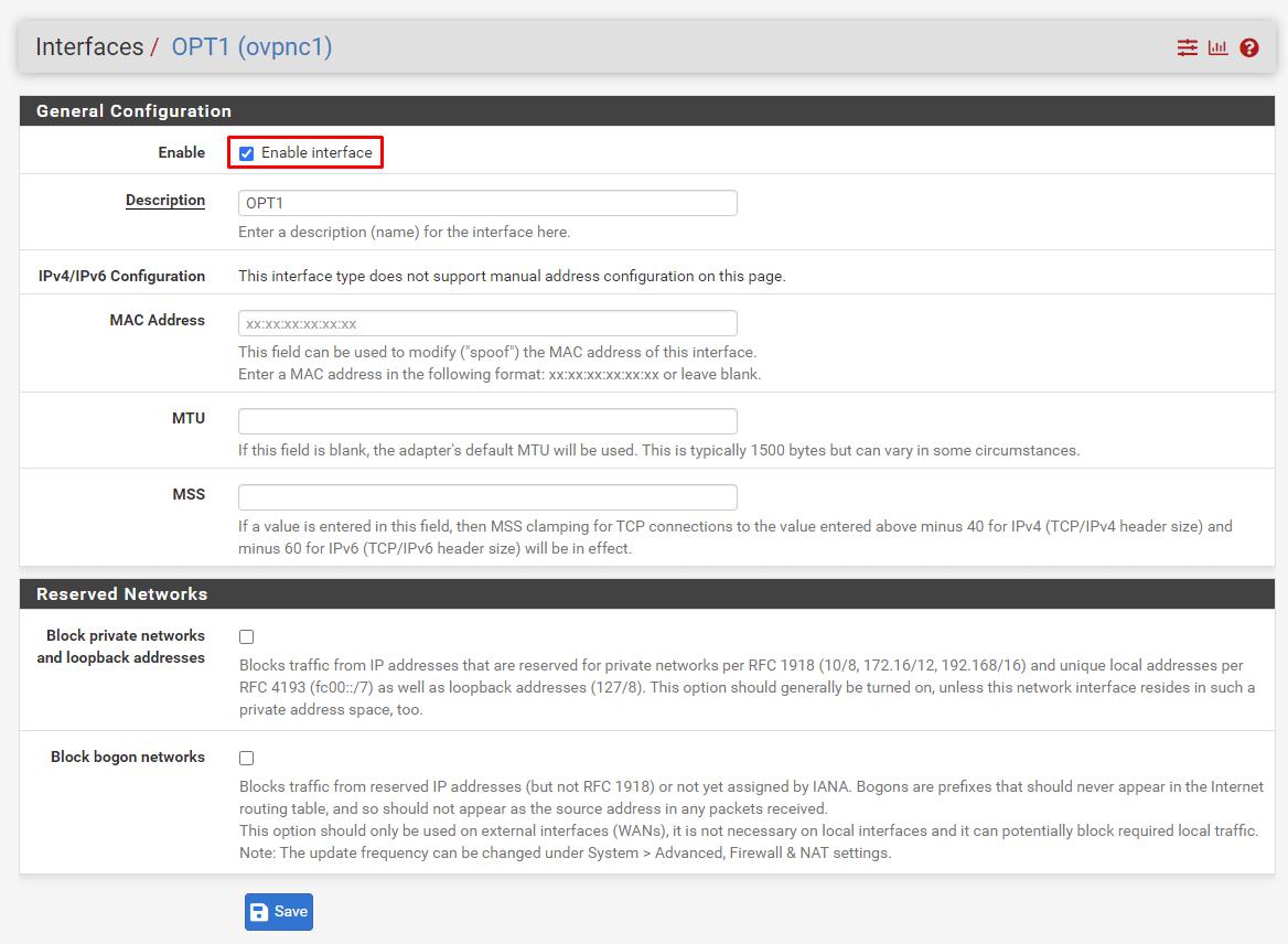 Install OpenVPN on pfSense | OVPN com