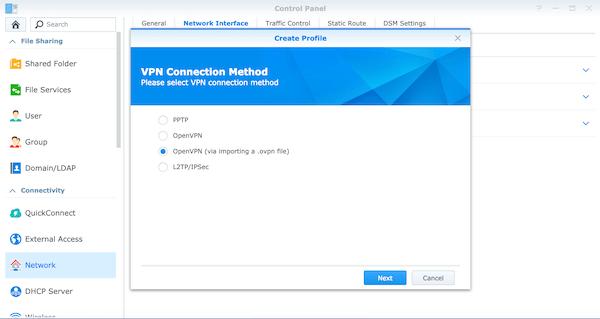 Install OpenVPN on Synology NAS | OVPN com