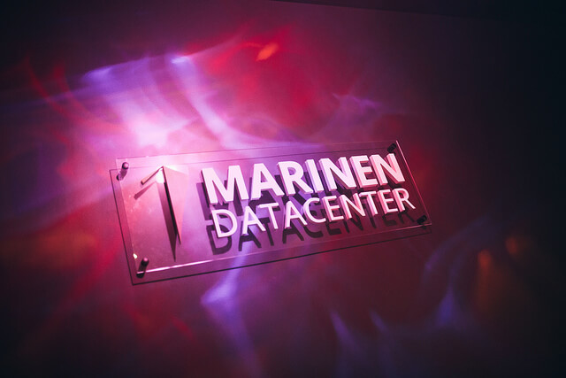 Marinen datacenter i Malmö